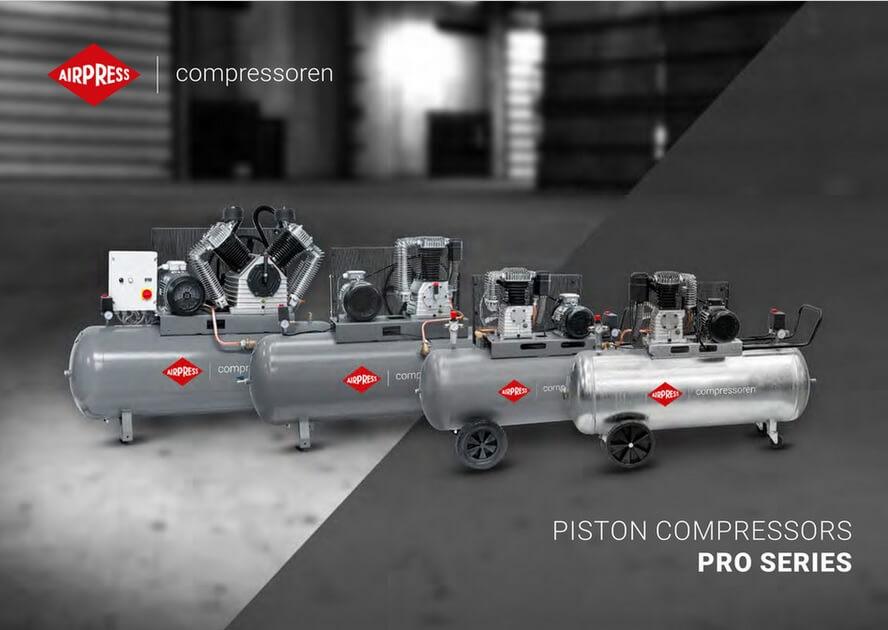 Kompresory tłokowe serii PRO