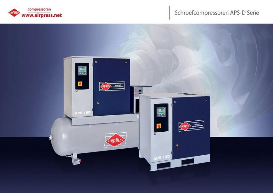 Kompresory śrubowe APS D