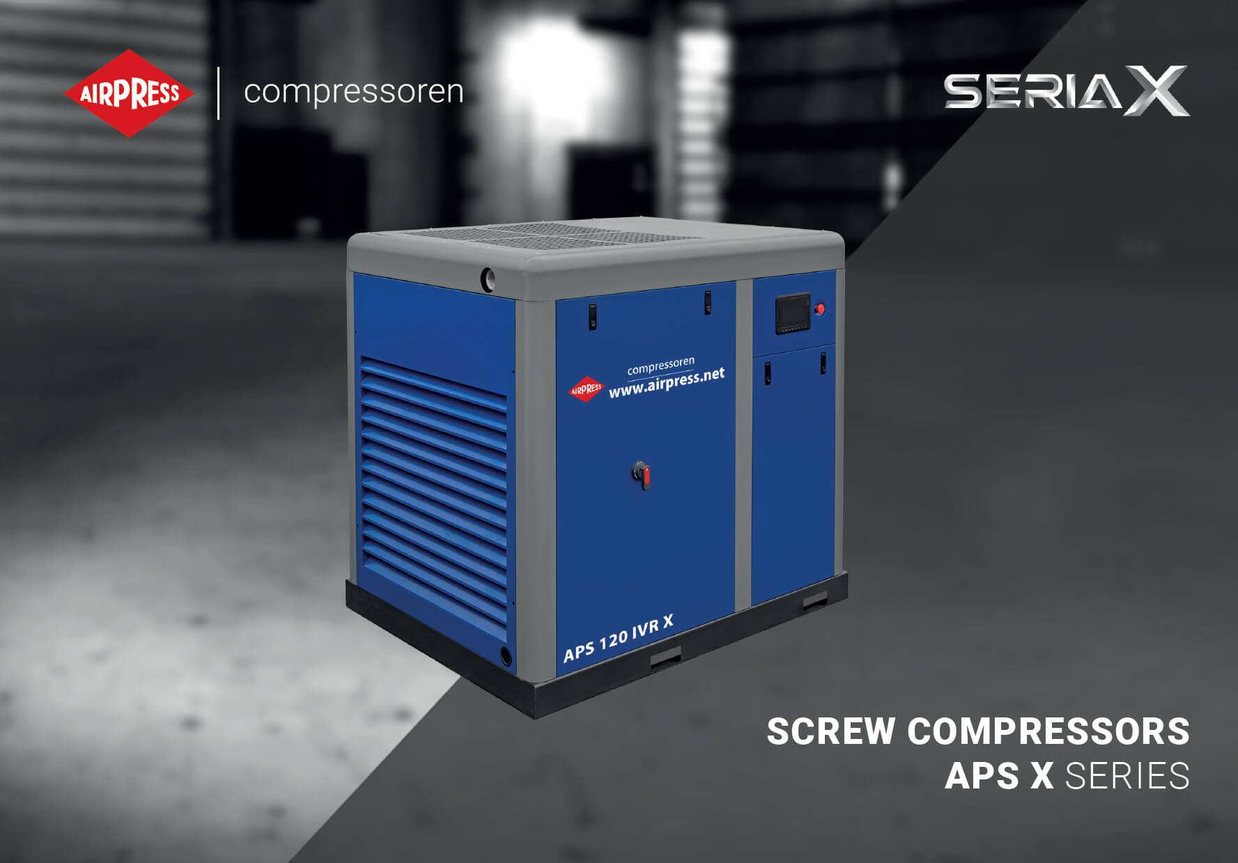 Kompresory śrubowe serii X