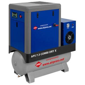 Kompresor śrubowy APS 7.5 Combi Dry X