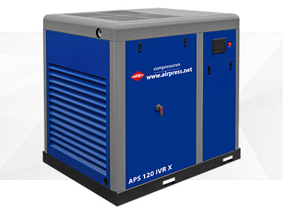 Kompresor śrubowy serii APS X 120 IVR
