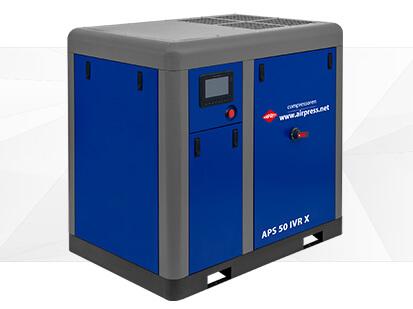 Kompresor śrubowy serii APS X 50 2 IVR