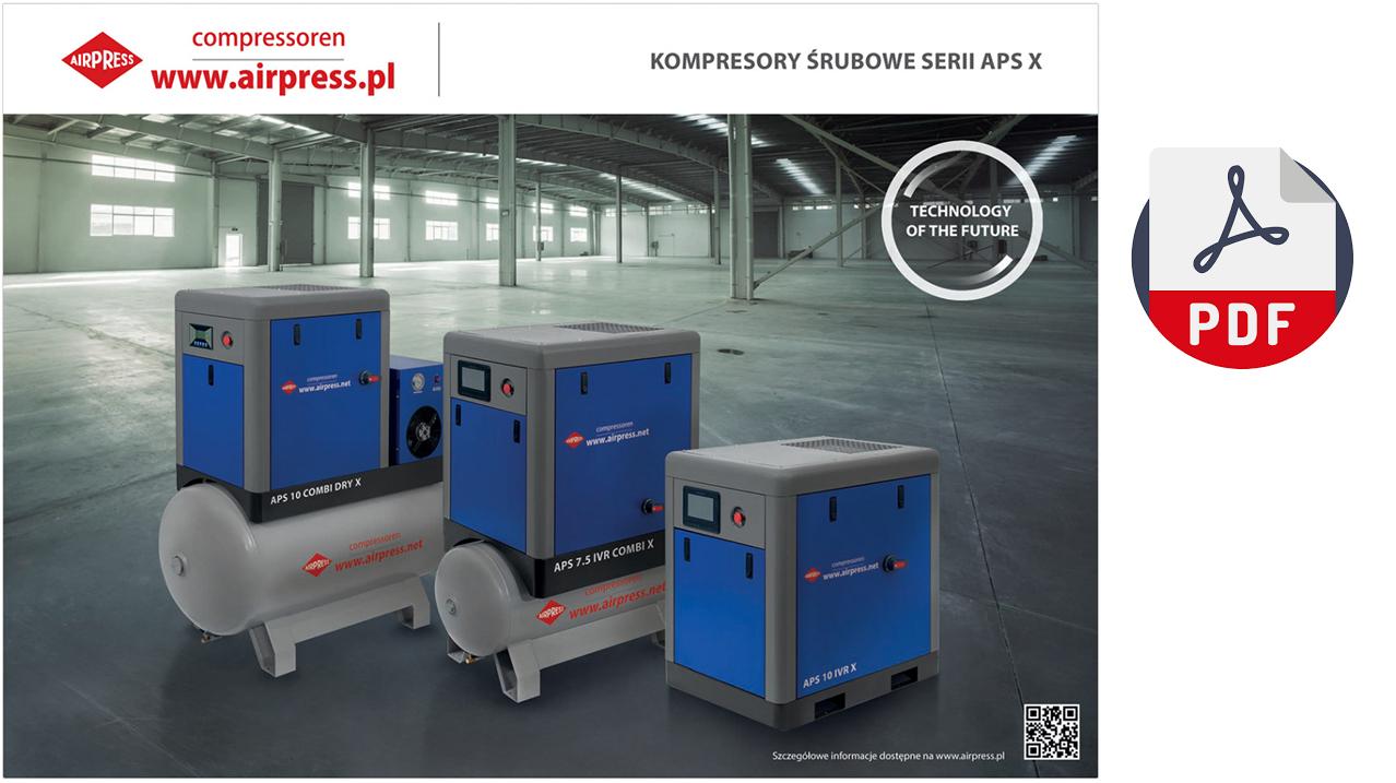 Kompresory Śrubowe APS X