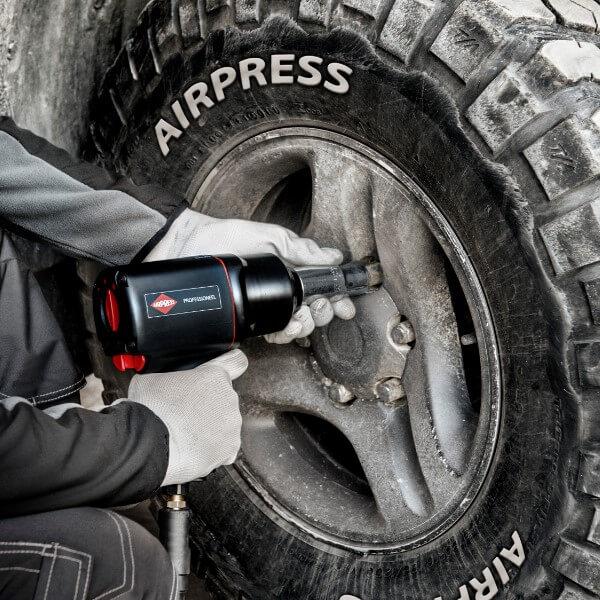 Klucz pneumatyczny do kół ciężarowych - klucze udarowe Airpress
